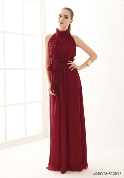 Long Chiffon Dress For Maternity