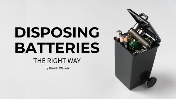 Disposing Batteries The Right Way