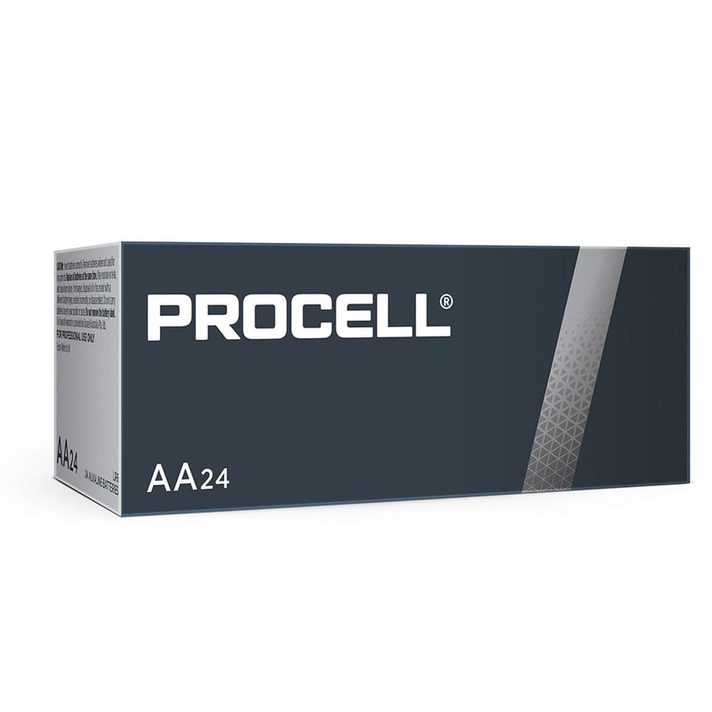 Procell-Duracell AA 1.5V Bulk Box of 24 - NZ Battery Specialists New Zealand