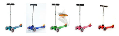 Our Favorite Things: Micro Mini Kick Scooters for preschoolers (plus the Maxi Kick scooter for older kids)