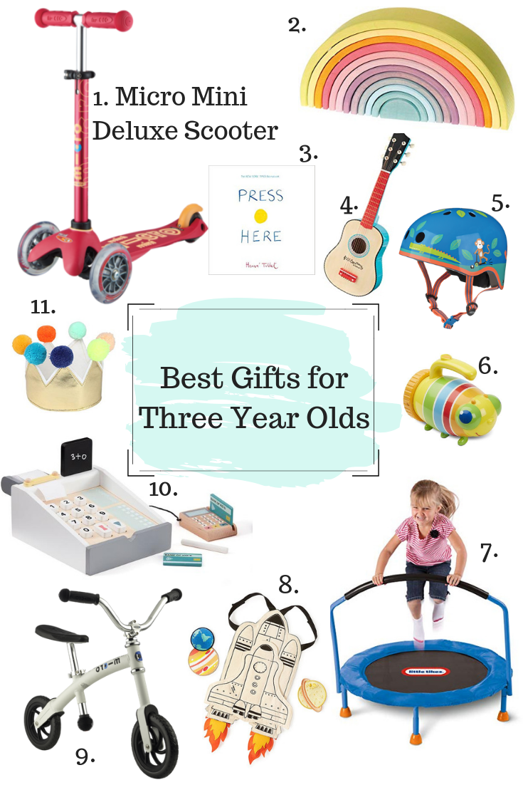 Gifts for Three Year Old