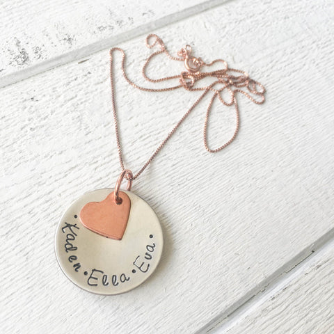 A Mother's Love Necklace best personalized handmade gifts for mom