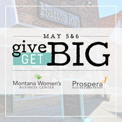 Hattie Rex GIVE BIG Graduation Mothers Day Non Profit Event