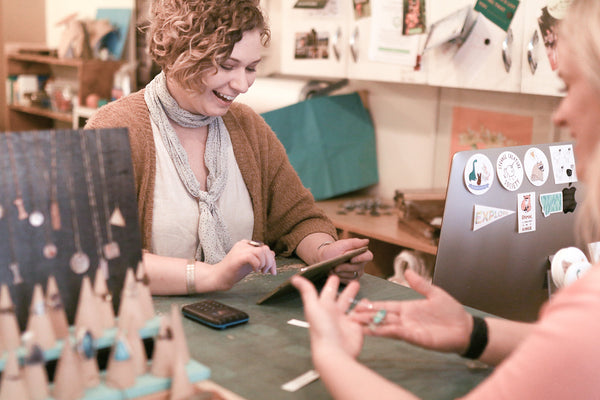 downtown bozeman gift shop handmade unique jewlery and gifts