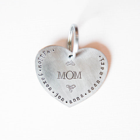 Mom's big Heart Personalized Gifts for mothers
