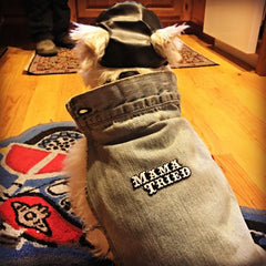 Sofia the Westie Dog Denim Jacket