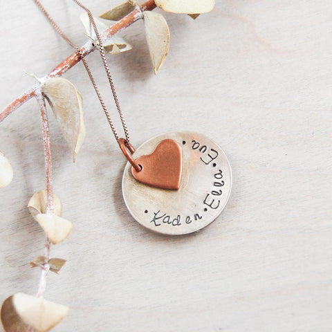 mothers love necklace valentines day