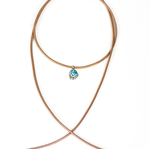 turquoise necklace women gift