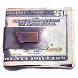 Montana Money Clip Money Clip handmade gift Bozeman, Montana