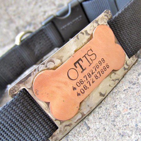 Bone Quiet Pet Tag