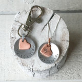 A Dog Mom's Love Necklace - Matching Set for you and your dog!