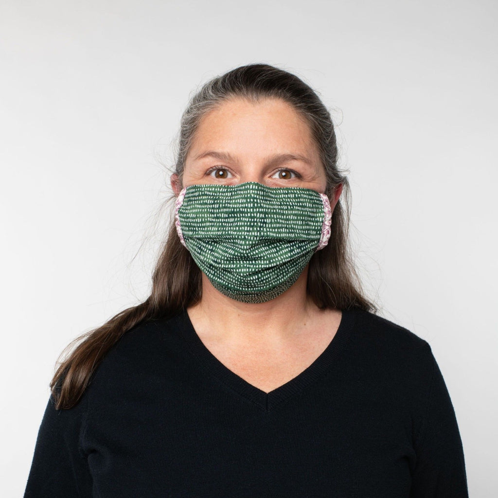 Cotton Masks with Filter Pocket