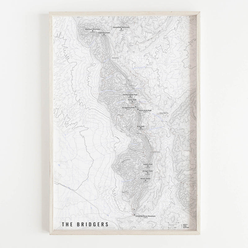The Bridgers Map