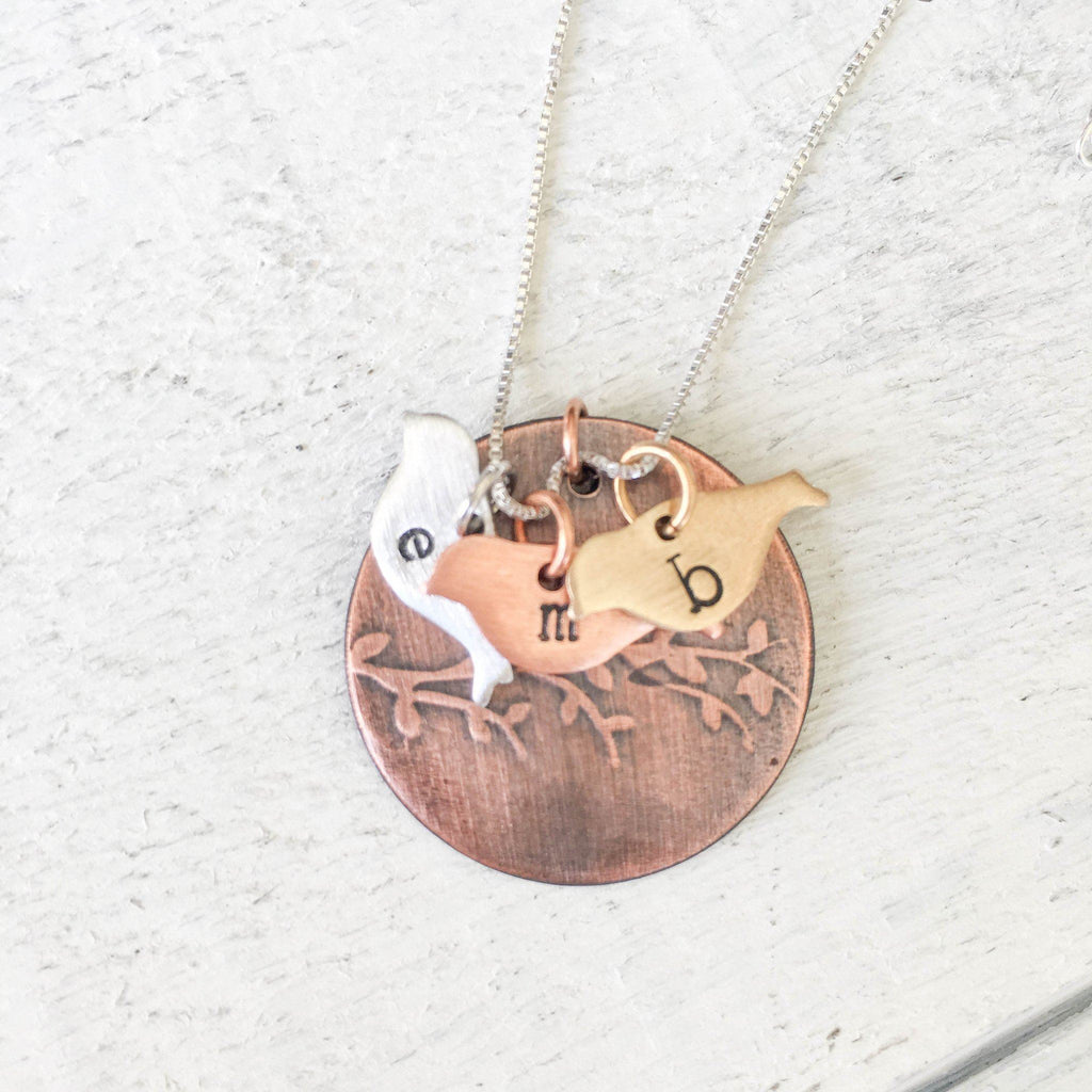 Family Tree Necklace Necklace handmade gift Bozeman, Montana