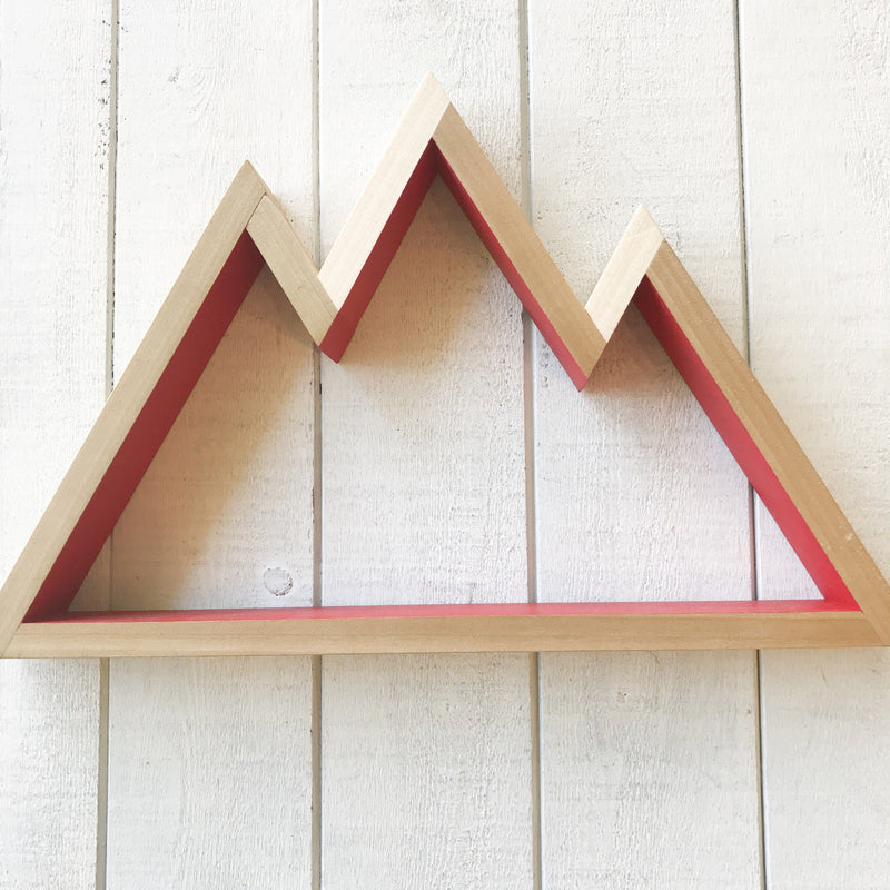 Mountain Shelf Wall Hanging handmade gift Bozeman, Montana