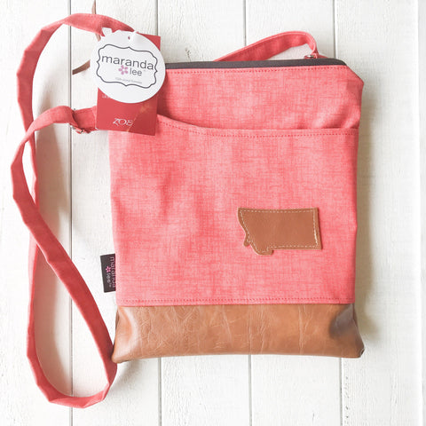 Zoe Messenger Bag