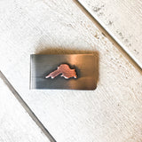 Lake Superior Money Clip Money Clip handmade gift Bozeman, Montana
