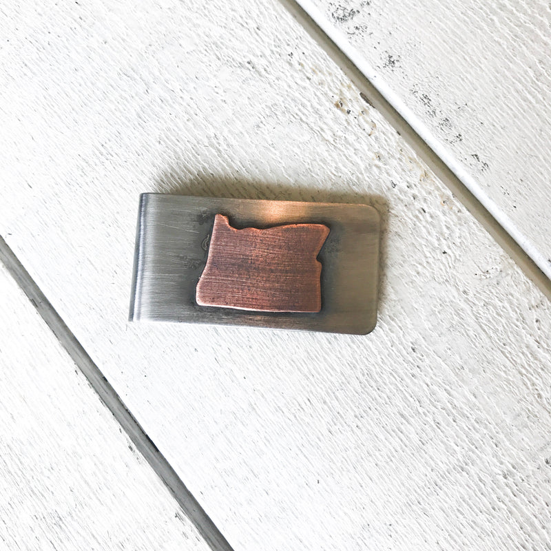 State Money Clip Money Clip handmade gift Bozeman, Montana