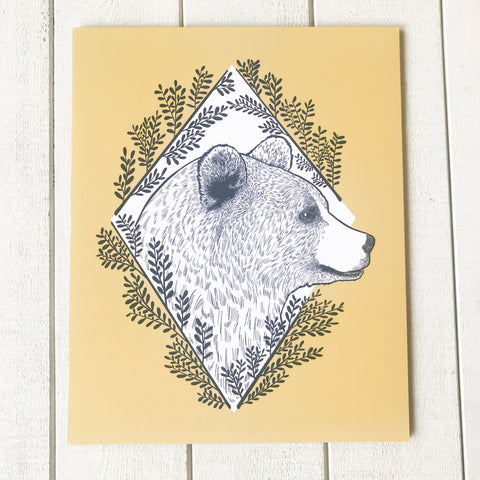 Kodiak Bear- Fine Art Print