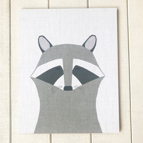 Raccoon- Fine Art Print