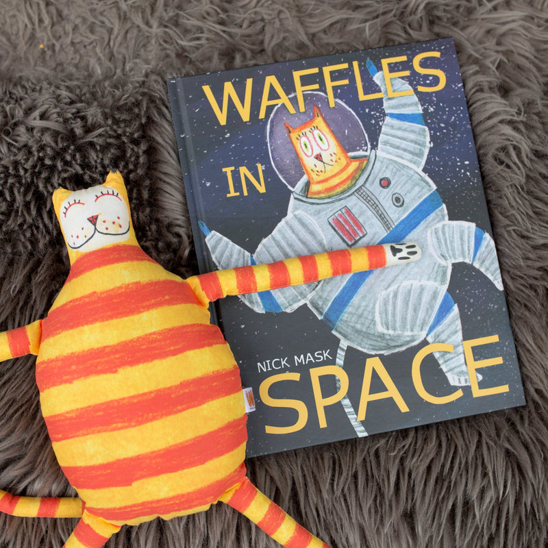 Waffles the Cat in Space Book