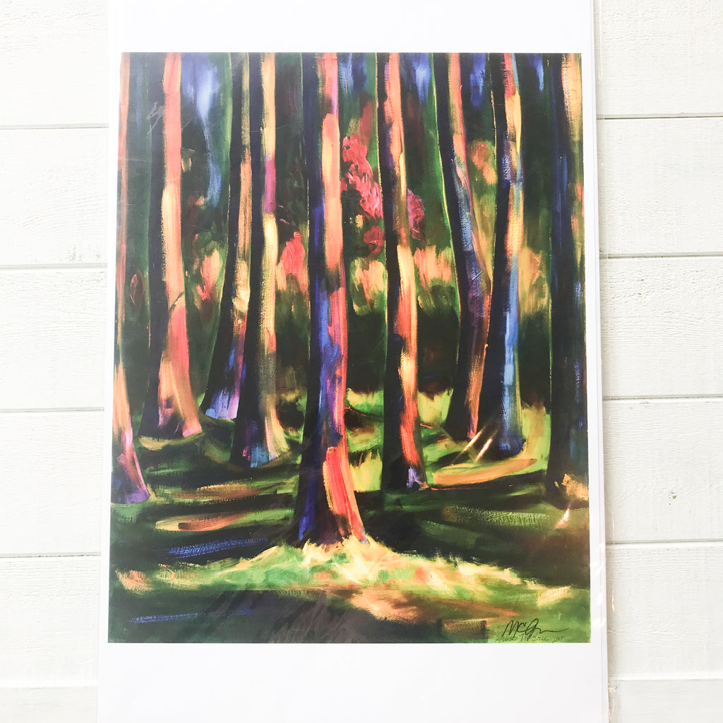 Enchanted Light Print Print handmade gift Bozeman, Montana