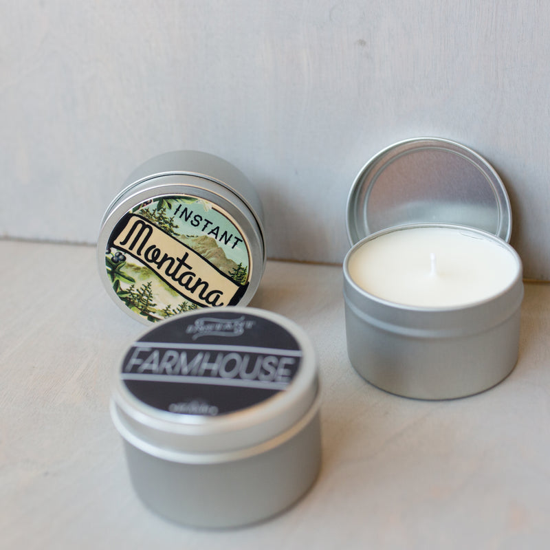 Instant Farmhouse Scented Candle