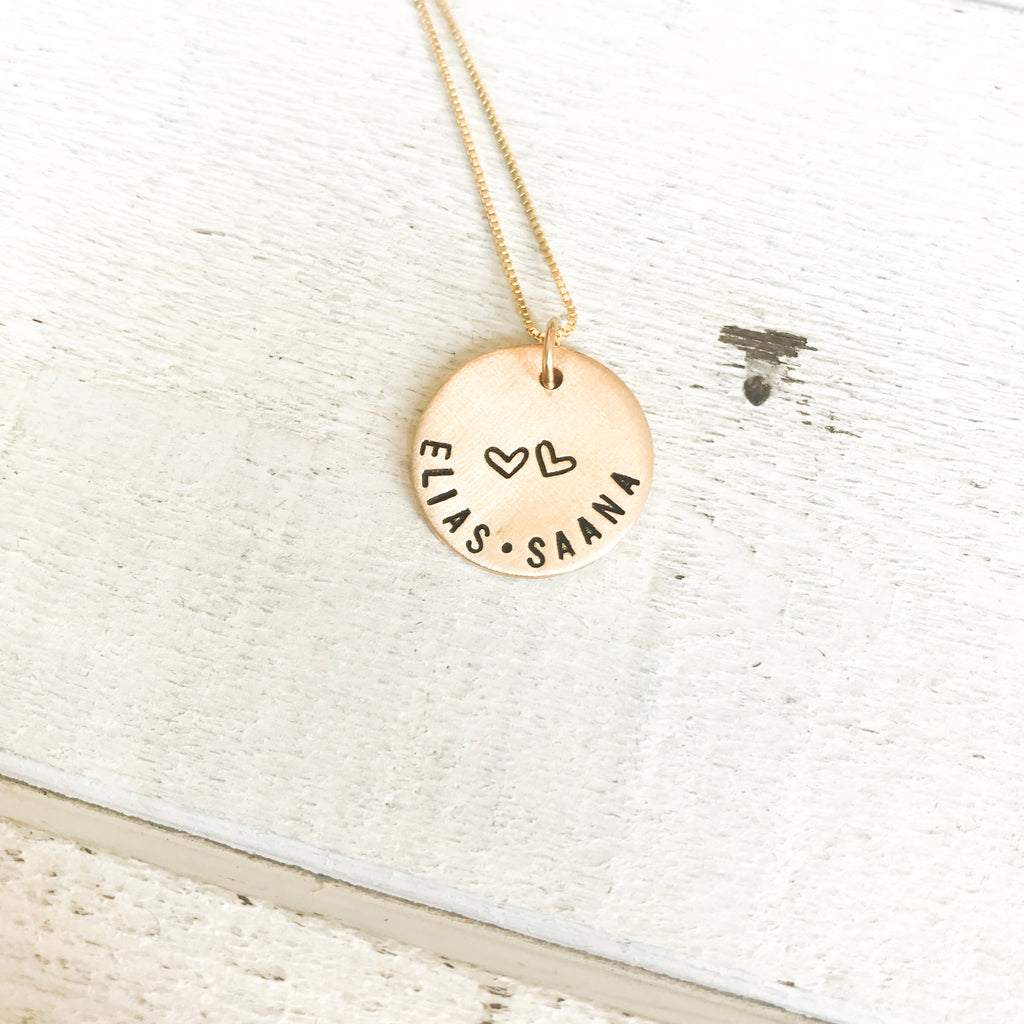 Hearts in Love Necklace