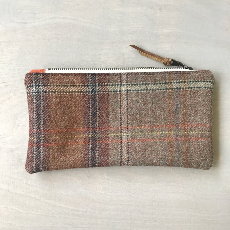 Handmade Wool Clutch
