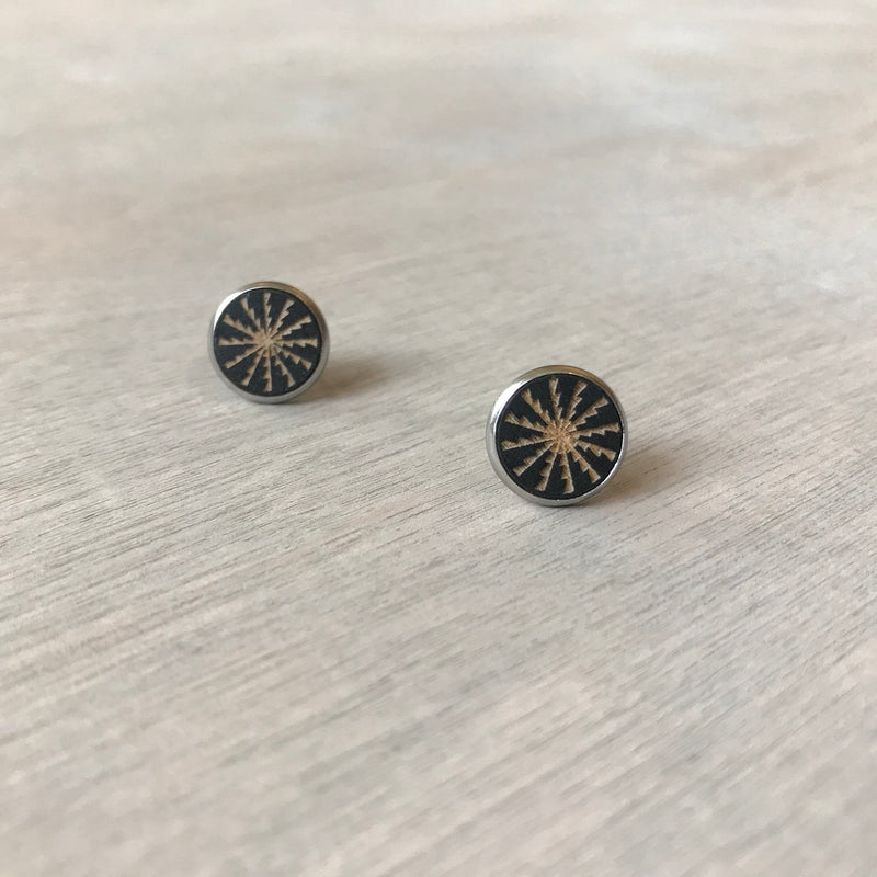 Laser Cut Stud Earrings