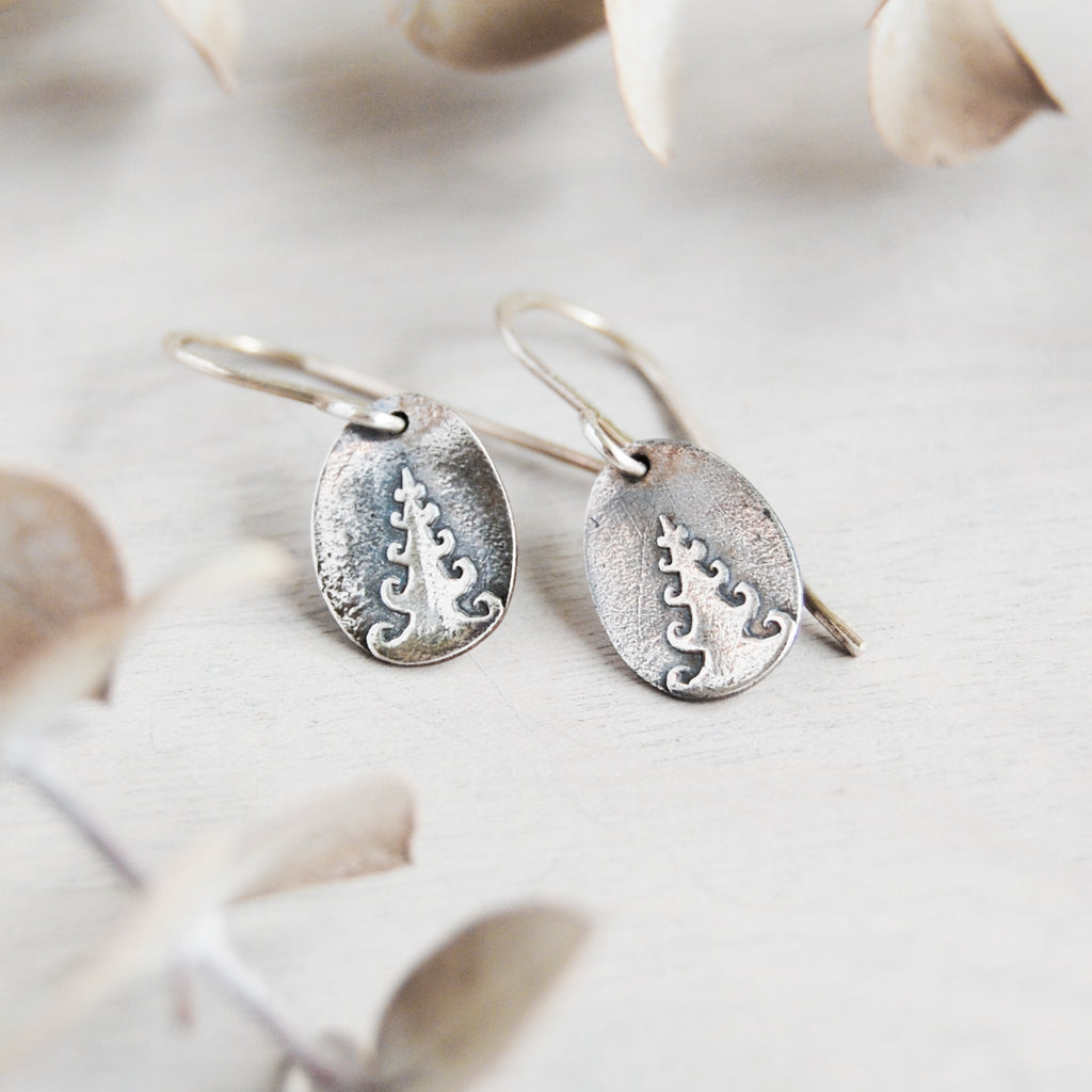 Whimsical Trees Earrings