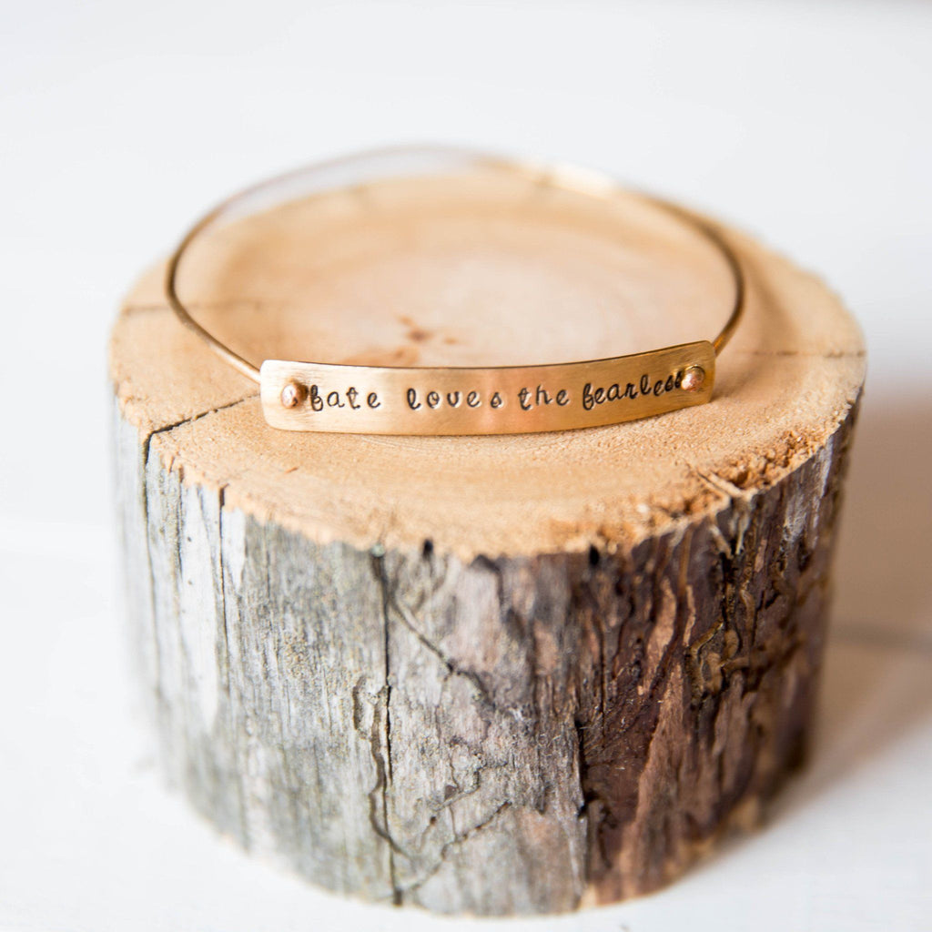 Betty Bangle Bracelet handmade gift Bozeman, Montana