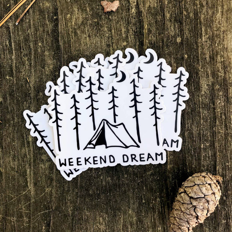 Weekend Dreams Sticker