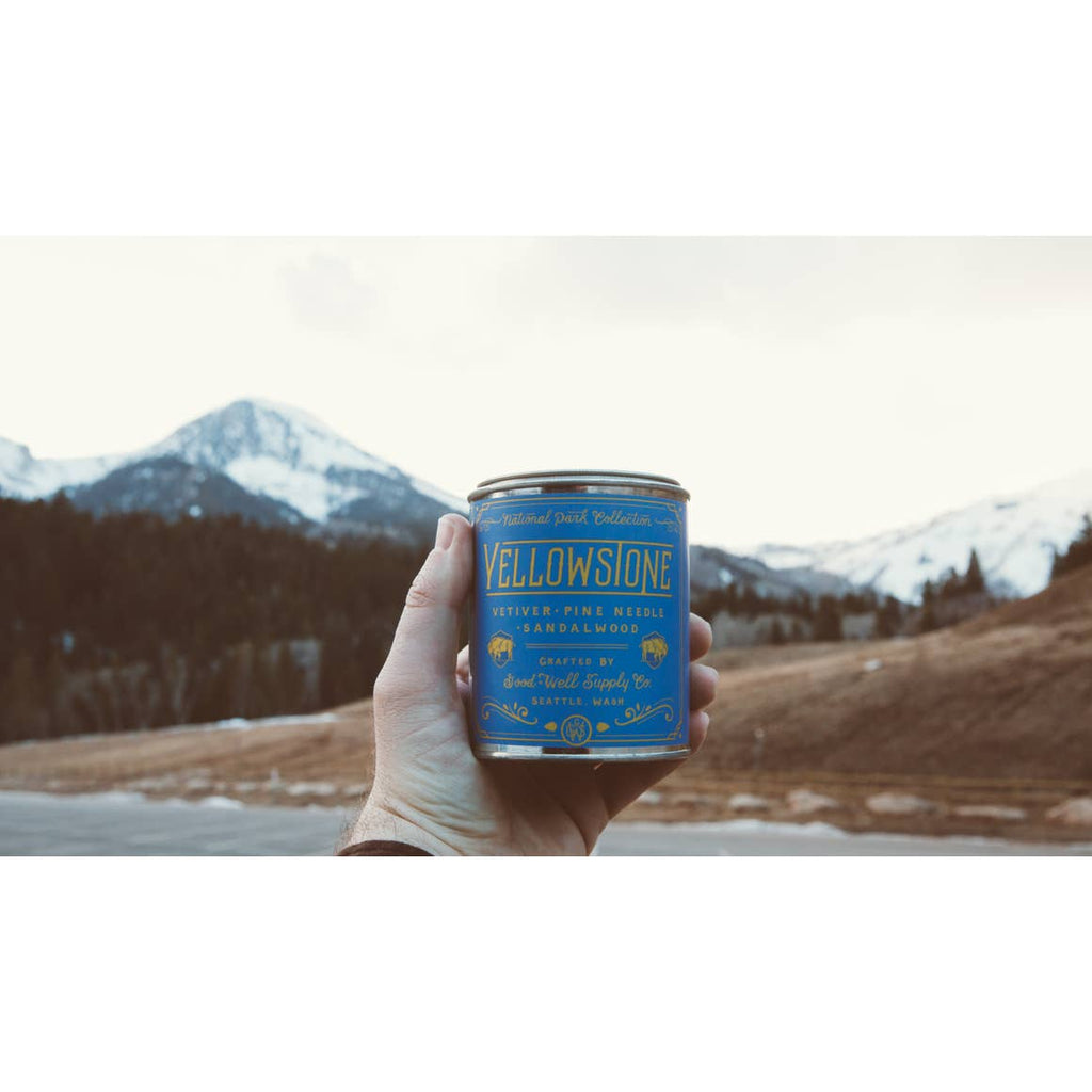 Good and Well Supply Co Yellowstone Candle