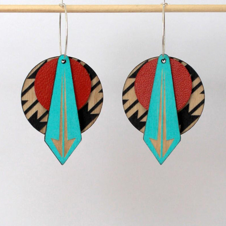Arrow Earrings: SOUTHWESTERN