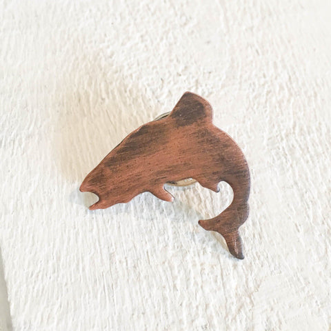 Jumping Trout Lapel Pin