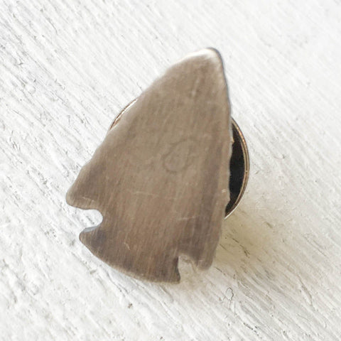 Arrowhead Lapel Pin