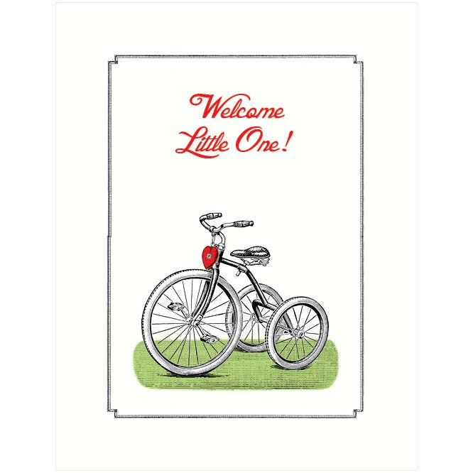Tricycle | Baby Card