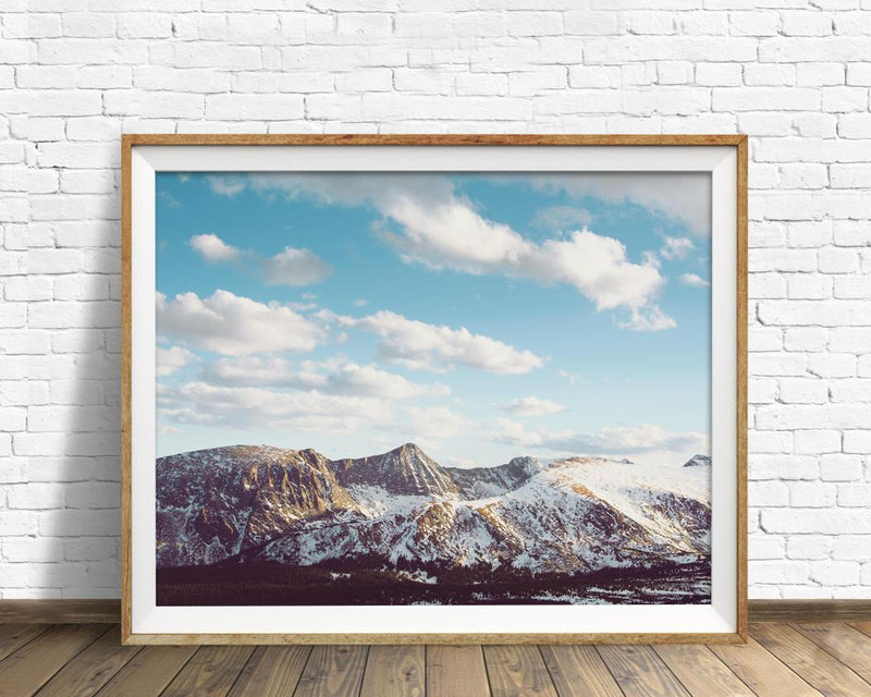 Rocky Mountain National Park Landscape Print