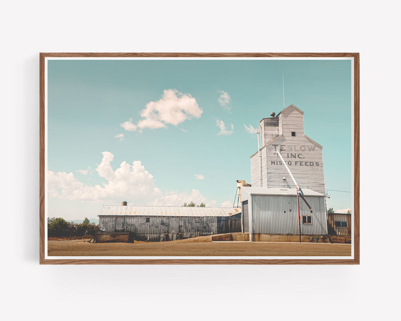 Grain Elevator Photography Print
