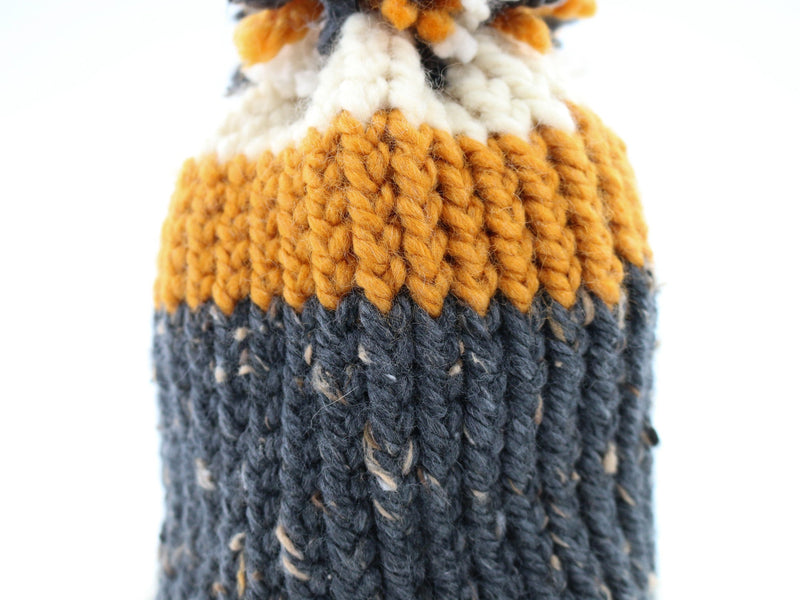 Hand Knitted Wool Winter Hat