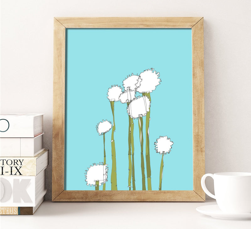 Alyssum Wall Art Print