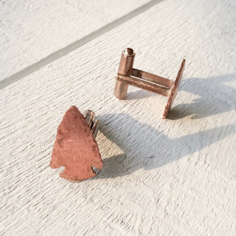Arrowhead Cuff Links