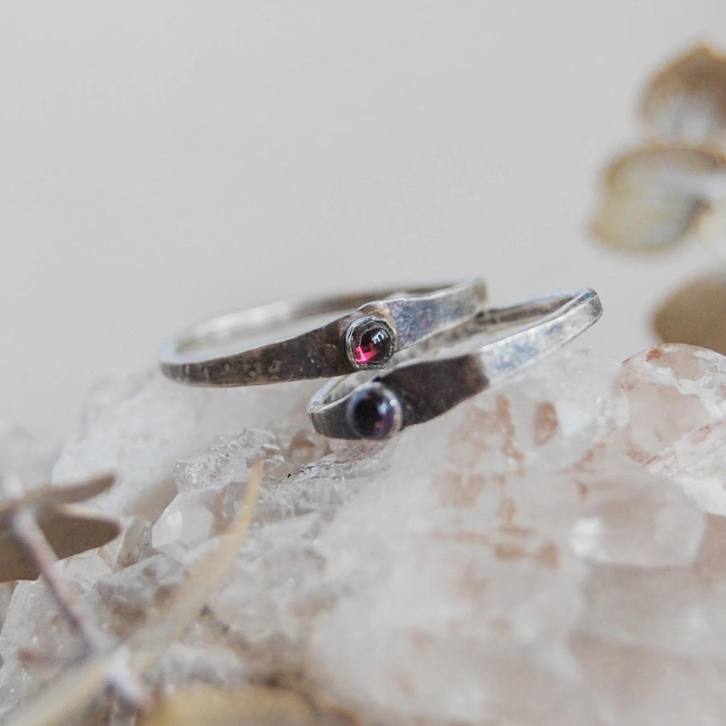 Our personalized stamped earrings, nameplate necklaces, simple necklaces, and other stamped jewelry will become future heirlooms.  Give the perfect gift with our bestselling stamped silver rings, GPS coordinates personalized earrings, and birthstone rings.