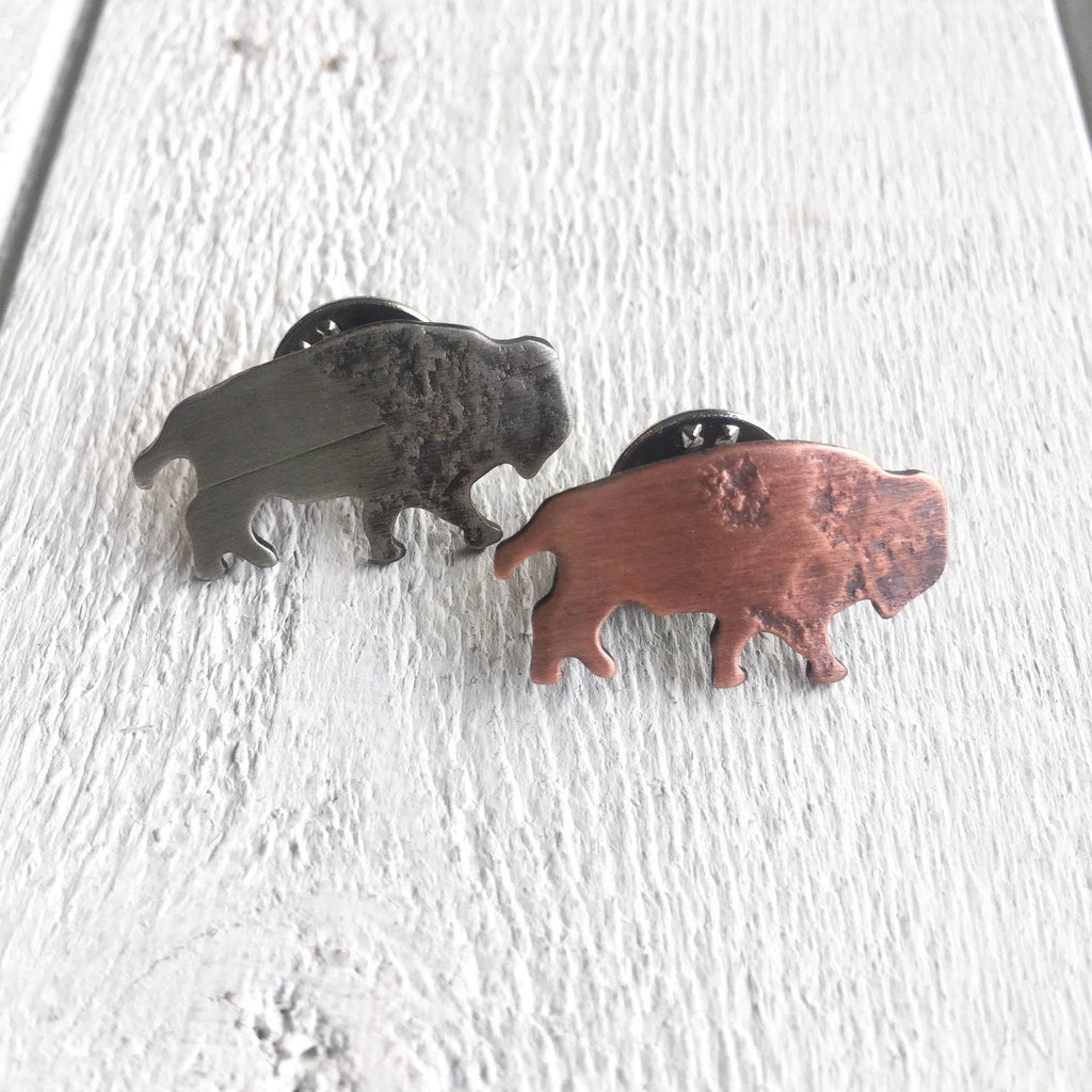 Bison Lapel Pin