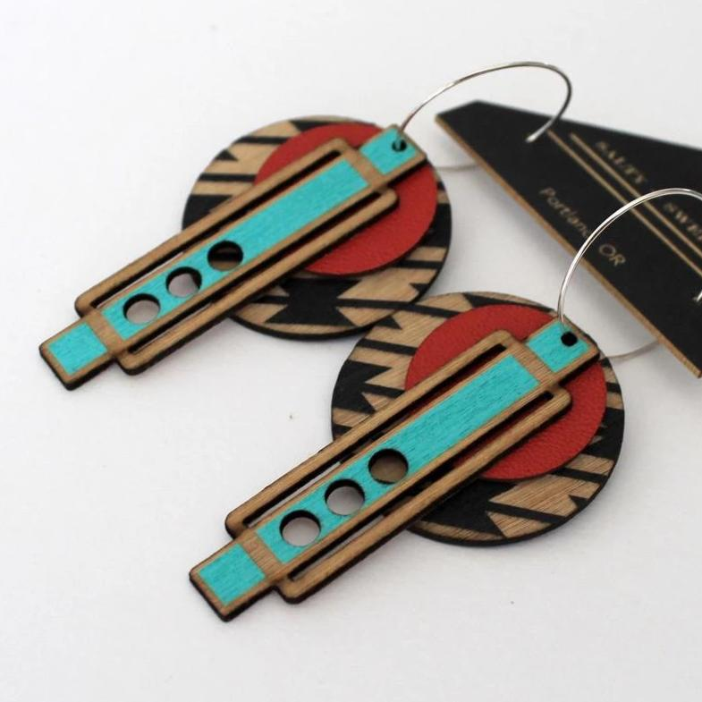 Wright Earrings: SOUTHWESTERN