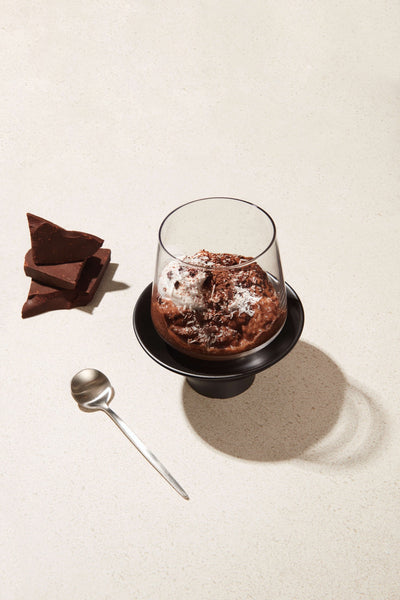 Triple Chocolate Chia Pudding
