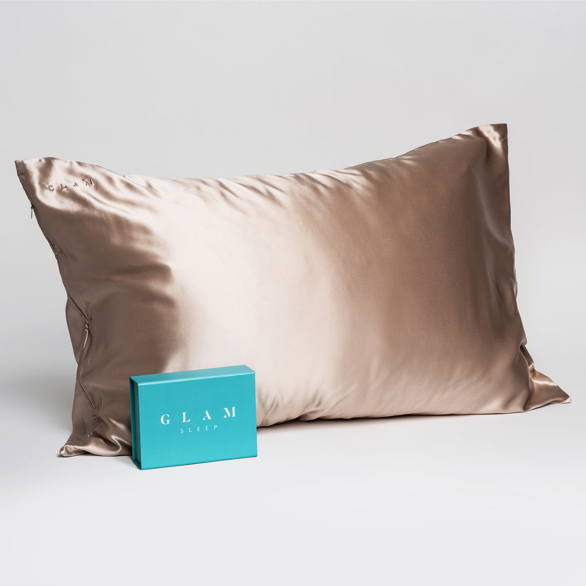 Pillowcase - Caramel - Queen - Zippered