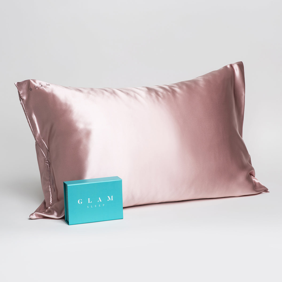 Pillowcase - Pink - Queen - Zippered