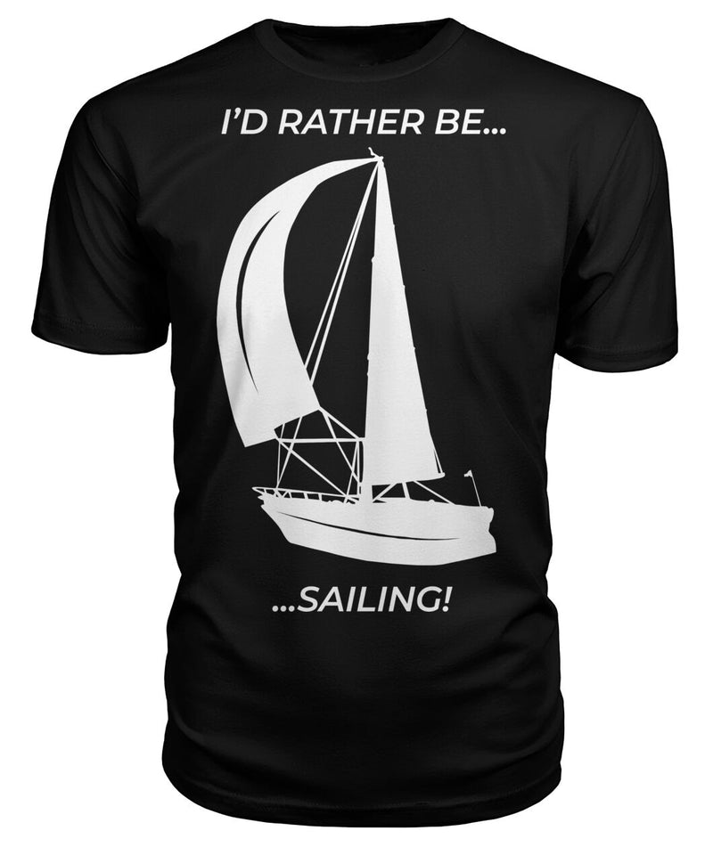 I'd Rather Be Sailing Premium Unisex Tee